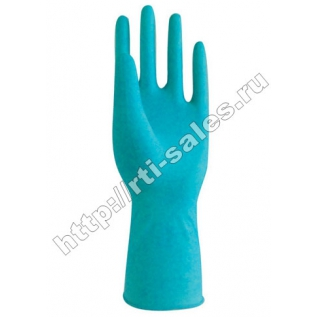 Перчатки резиновые хозяйственные двухслойные