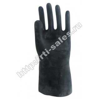 Перчатки технические кислощелостойкие (КЩС) тип I